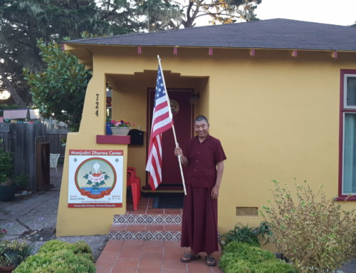 Rinpoche U.S. Citizenship Test