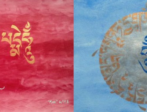 Tibetan Calligraphy Paintings