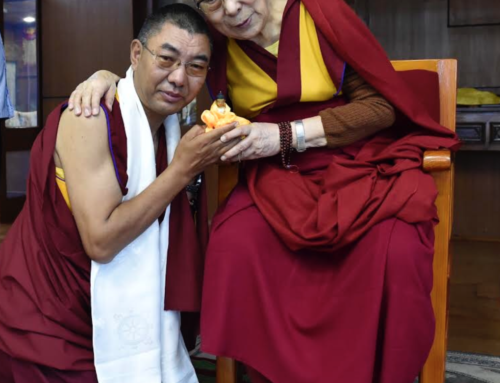 Blessings from His Holiness the Dalai Lama