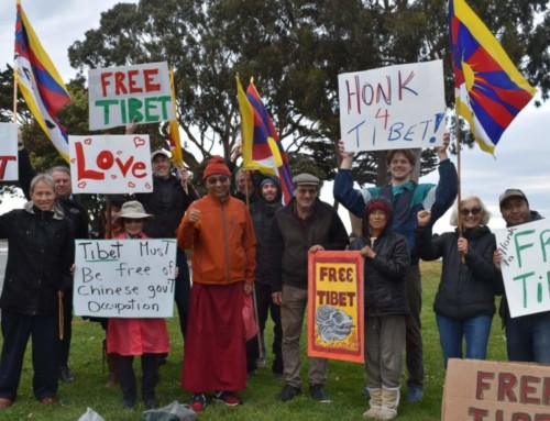 Thanks To Tibetan Uprising Day Protestors