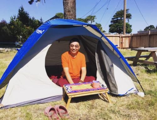 Backyard Tent & Carefree Days