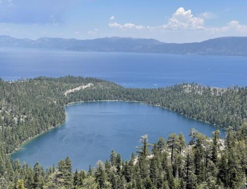 གྲོགས་པོ་དངོས་གྲུབ་རྡོ་རྗེ་ལགས་དང་ལྷན་ཉིན་གསུམ་རིང་སྤྲོ་སྐྱིད་ལ་སོང་བའི་ཚོར་སྣང་།  A Trip to Lake Tahoe
